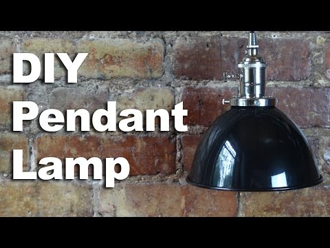 DIY Pendant Light How To - GardenFork Sponsored Video