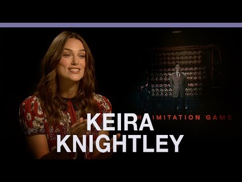 Keira Knightley on her 'quietly feminist role' in The Imitation Game