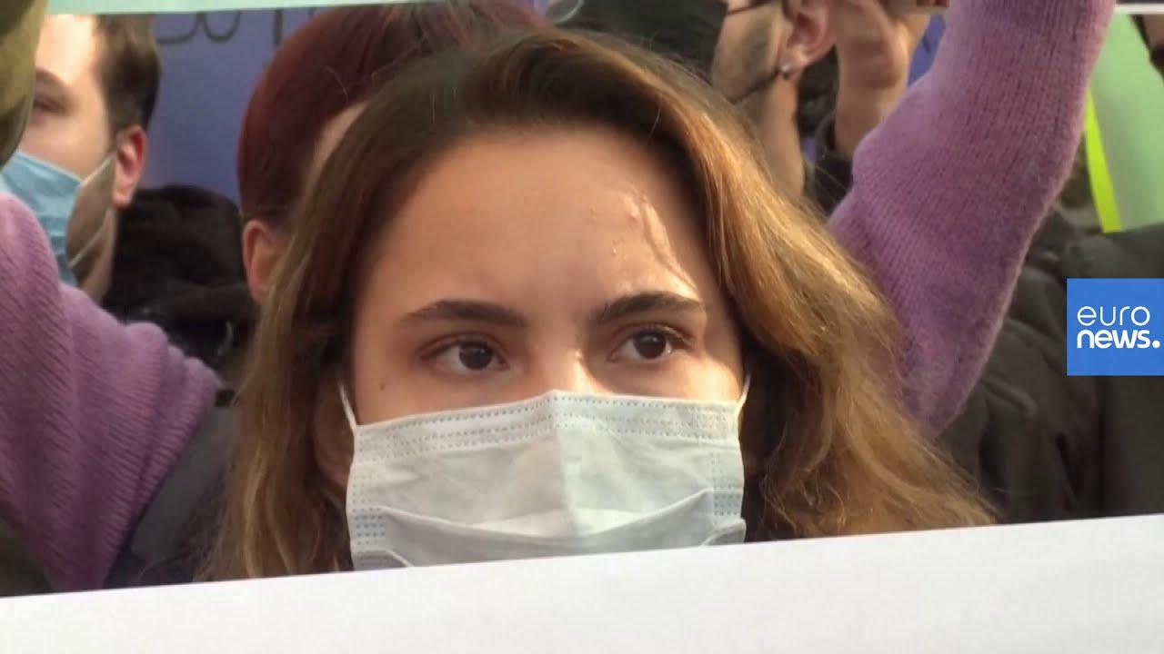 شاهد: تظاهرة طالبية احتجاجا على تعيين رئيس لجامعة البوسفور مقرب من إردوغان  - 18:58-2021 / 1 / 4