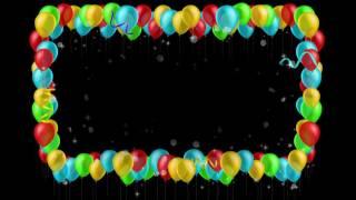 видео Фоторамка из воздушных шаров