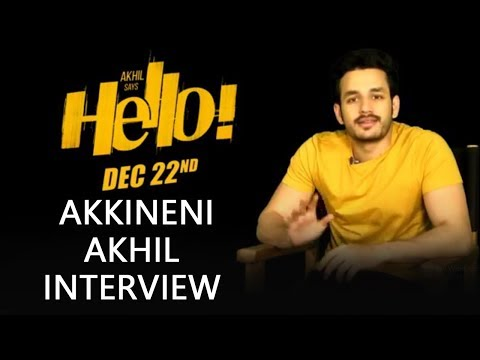 Akhil Akkineni FB Interview About HELLO! Movie | Akhil, Kalyani Priyadarshan I Vikram K Kumar