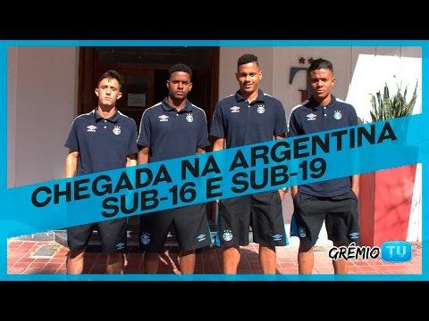 Base gremista faz excursão na Argentina l GrêmioTV
