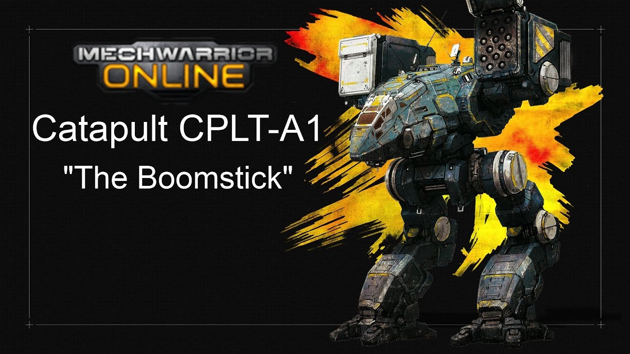 Mechwarrior Online Catapult A1 Build With 6x Srm6 Aka