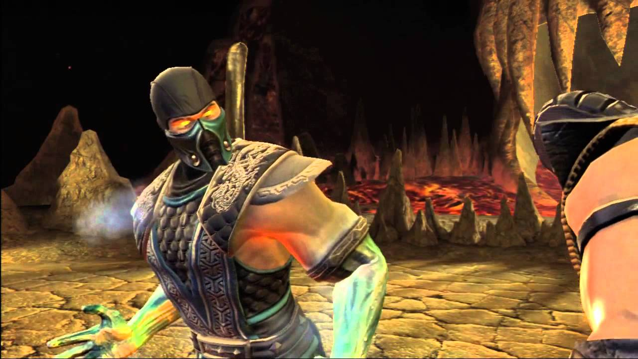9 Sub Scorpion Zero Vs Mortal Kombat