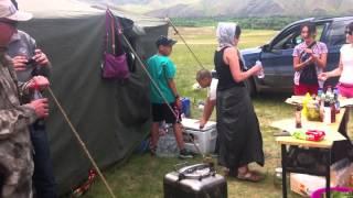 Обед в степях Монголии