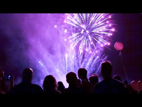 Musical Wedding Fireworks