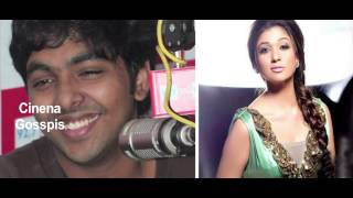 g v prakash wants to romance nayanatara in his new movie