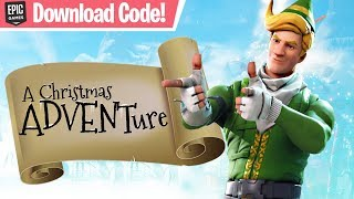 Christmas ADVENTURE 2 Cabin (w/ Download Code!) - Fortnite Creative Mode