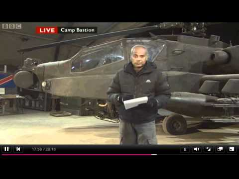 """BBC News on Nato mission in Afghanistan: """"It's about stitching the fabric of a nation together"""""""