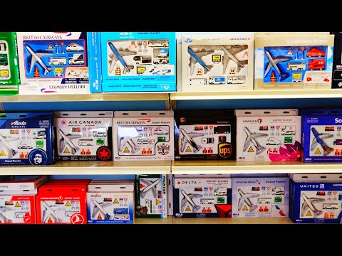 Diecast Hunting in Europe‼️Amsterdam. Airport playsets ✈️ Aviation Megastore 😍