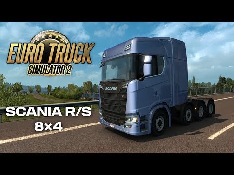 Euro Truck Simulator 2 - Introducing 8x4 chassis for Scania R and S