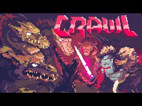 Crawl !!! Joguei Joguei e Nem sei o Que joguei! Game INSANO!!! Omega Play