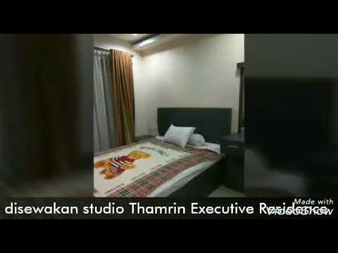 Disewakan studio Thamrin executive residence