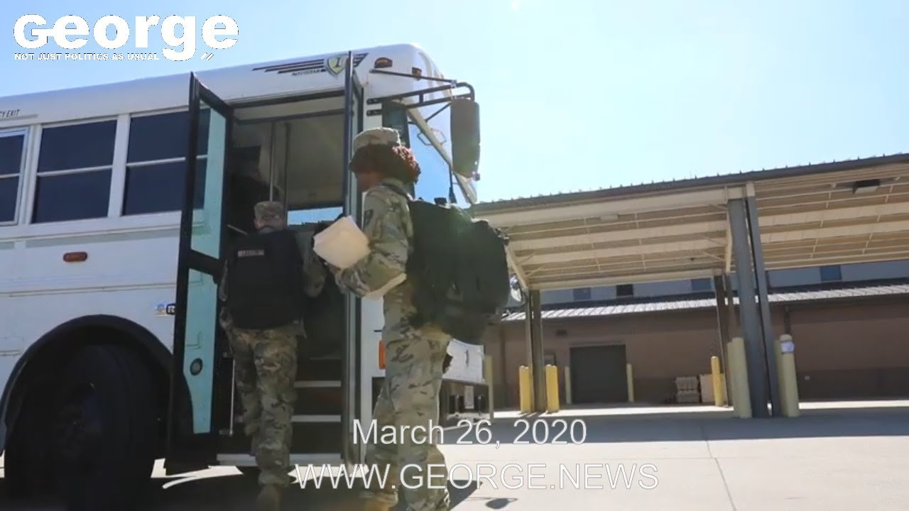 531st Hospital Center deploy to New York state to support with COVID-19 response, March 26, 2020