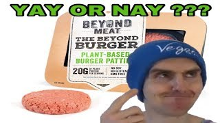 THE BEYOND BURGER TASTE TEST- IS IT A YAY OR NAY???