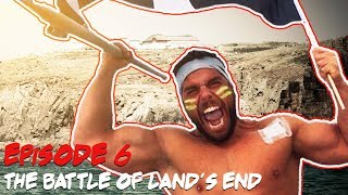 The Battle of Land's End. | Ross Edgley's Great British Swim: E6