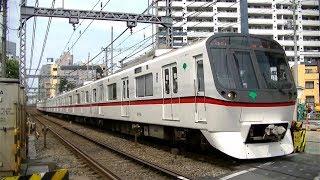 都営5300形5319F41Tエアポート急行新逗子行き 八丁畷駅前踏切通過