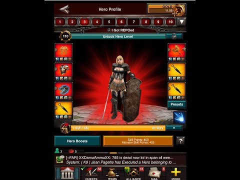 Game Of War: Rally Test by SH 41 which not released - All should stay shield & test B4 Unshield