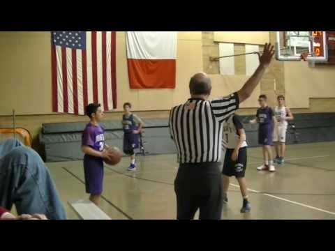 Masters MS Basketball Team vs French School 12/13/16