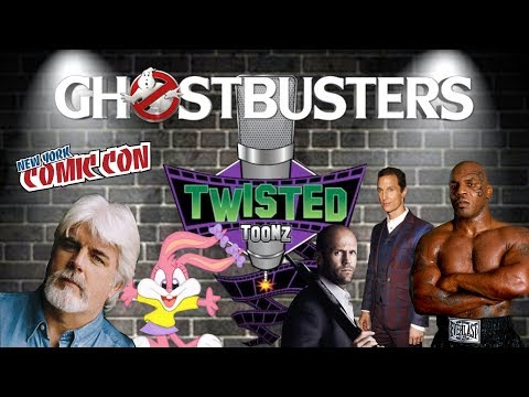 NYCC 2017 Twisted Toonz: Ghostbusters Script Reading! Part 4