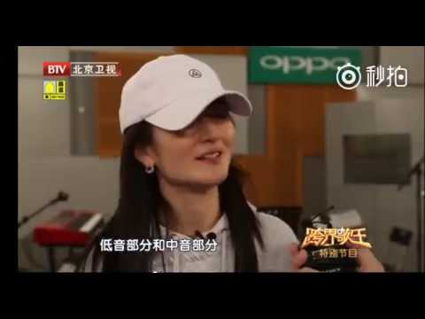 Zhang Jie (Jason Zhang) 跨界歌王花絮探班 張杰 謝娜