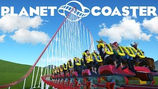 The Fastest Roller Coaster! - Planet Coaster Gameplay #2 (Playthrough/Let