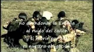 Himno Infanteria de Marina Española con letra