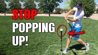 How To: Baseball Hitting Drills To STOP POPPING UP!