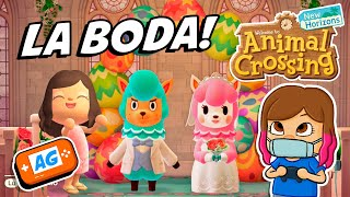 LA BODA de ALPACA en Animal Crossing NEW Horizons