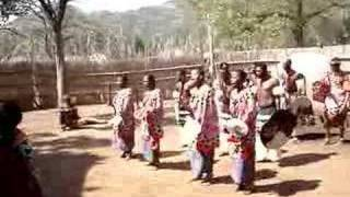 Swazi Cultural Village - Praise for the Swazi King
