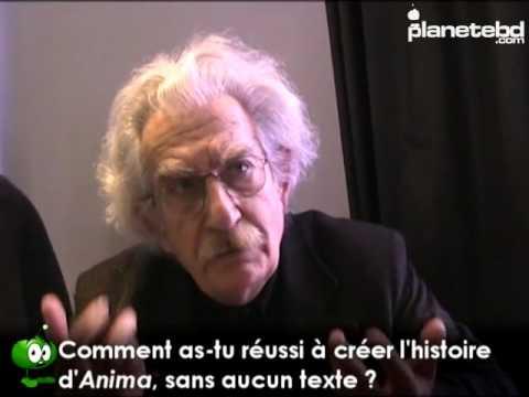 Paolo Serpieri en interview pour PlaneteBD.com