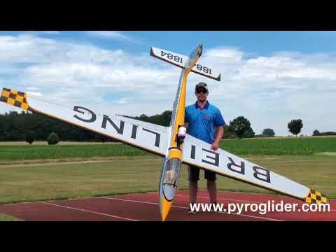 CARF Kobuz 3 Turbine Glider #Extreme #Speed Mario Müller RC