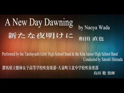A New Day Dawning [Naoya Wada] / 新たな夜明けに [和田直也]