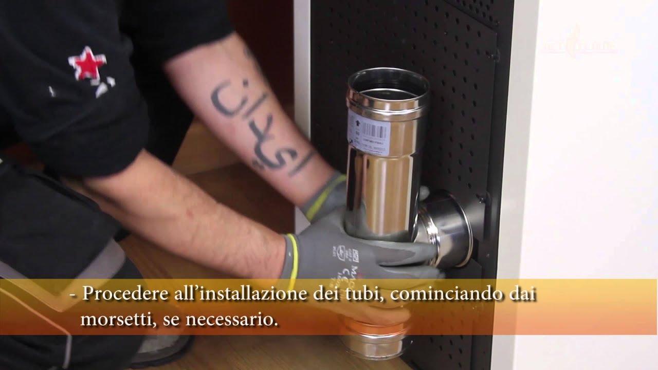 Tubi Aria Calda Stufa Pellet installazione stufe a pellet netflame