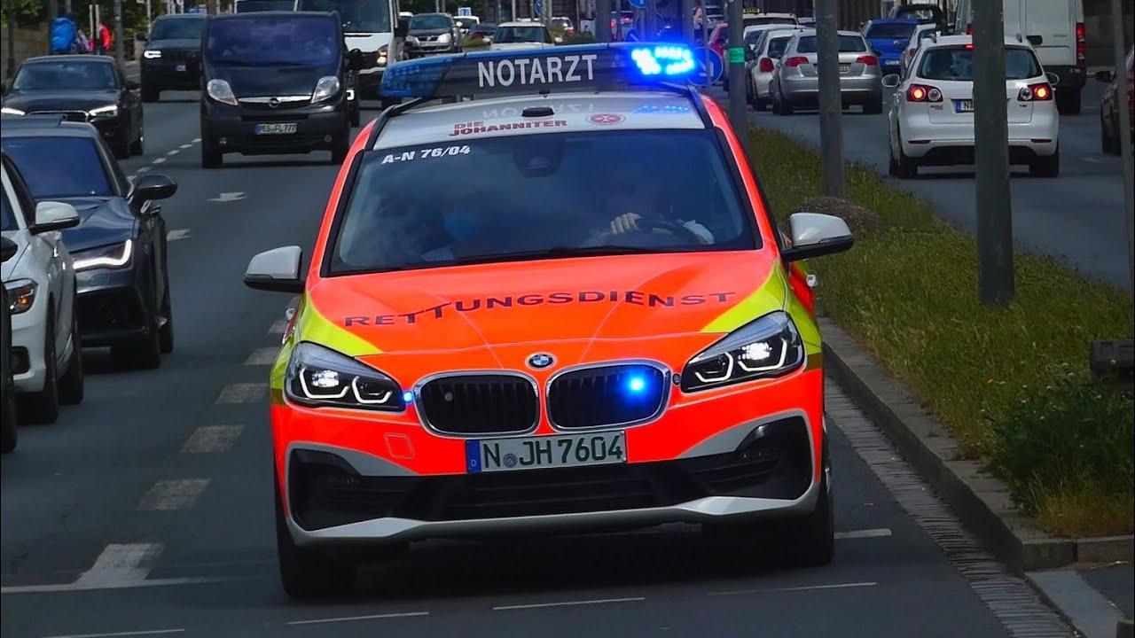 RTW 71/04 + NEF 76/04 Johanniter Nürnberg