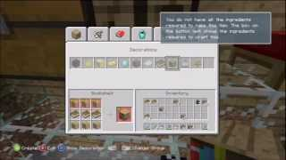 Minecraft for Xbox 360 Part 45 - Crafting Paper, Books, Bookshelves
