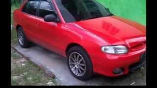 Dijual Hyundai Excel 2003 Merah HP 085246902754 Samarinda Kalimantan Timur