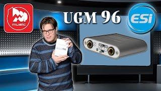 eSI UGM96 - мобильная звуковая карта