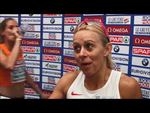 Jenny Meadows - European Championships 2016