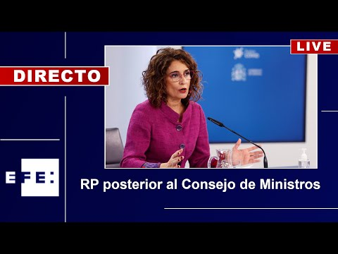Sigue en directo la rueda de prensa tras el Consejo de Ministros