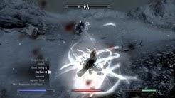 Skyrim - Odin Vs The Ebony Warrior