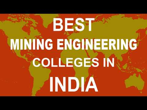 Best Mining Engineering Colleges In India