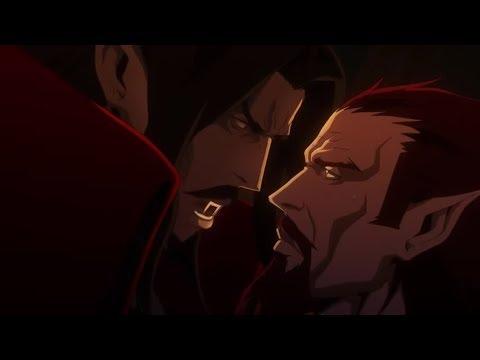 Dracula vs Godbrand   Castlevania