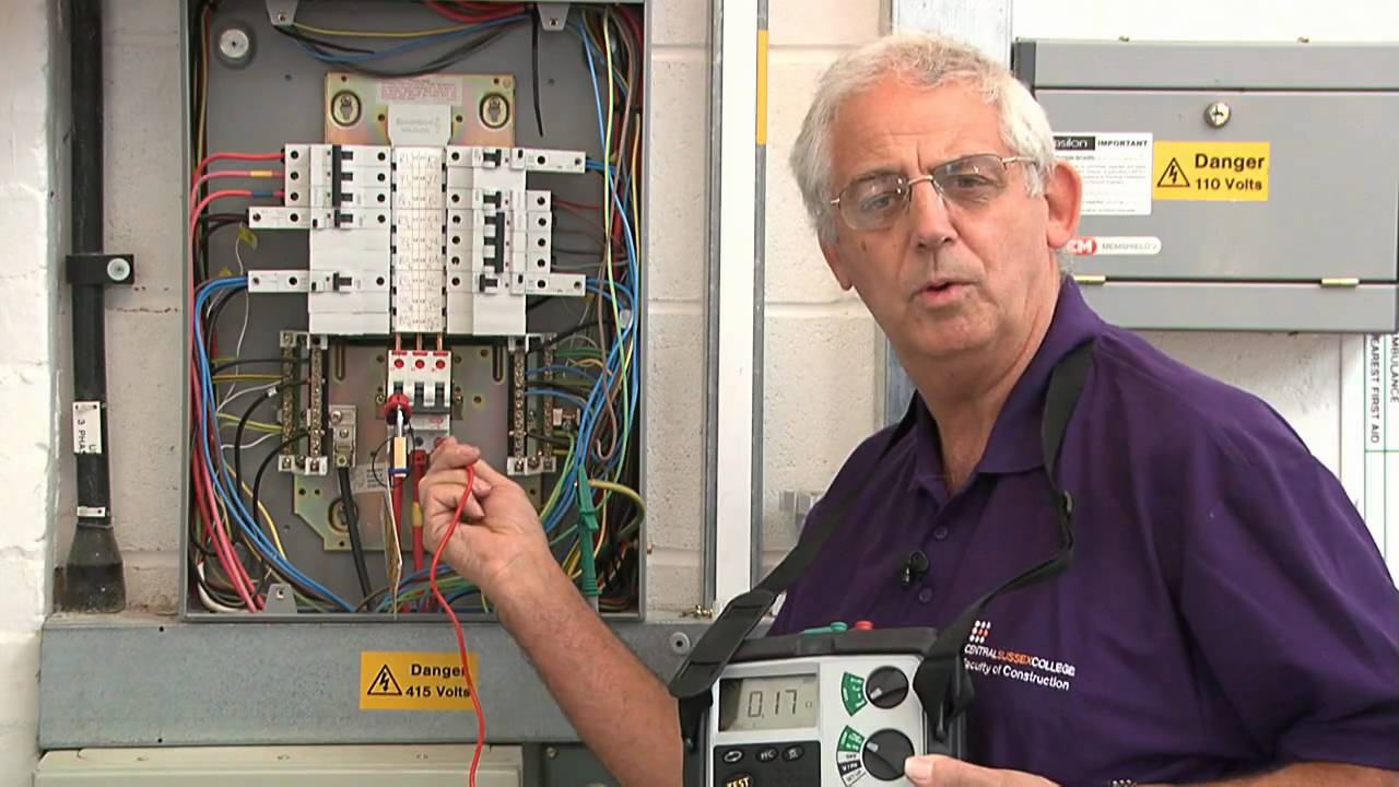 Find An Electrician >> Chris Kitcher - Electrical Testing - YouTube