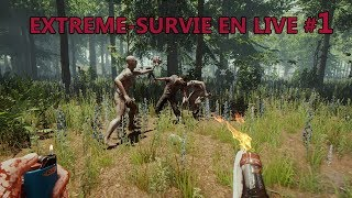 The Forest EXTREME-SURVIE EN LIVE #1 Mode Hard Survival