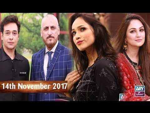 Salam Zindagi With Faysal Qureshi -  Faryal Mehmood & Roohaani Bano - 14th November 2017