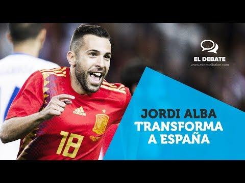 Jordi Alba y el lateral izquierdo de España