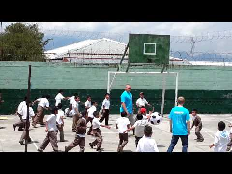 Guatemala City at the school