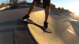 Скейтборд Ripstik, видео трюков