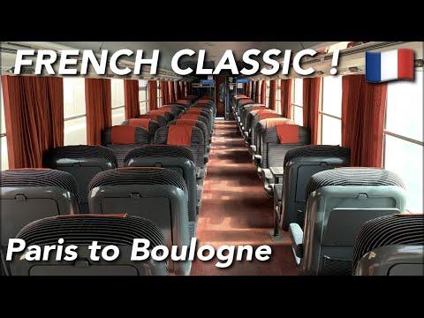 SNCF Intercités  (1ST CLASS) | Corail | Paris Gare Du Nord🇫🇷 - Boulogne Ville🇫🇷 |